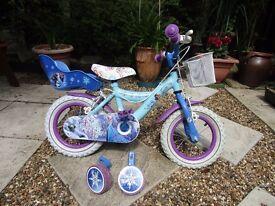 Disney Frozen 12 Inch Bike