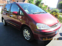 Ford Galaxy 1.9 TDi LX 5dr, 53 Reg, Full history, Low mileage, Excellent cond', Heated windscreen.