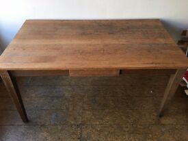 Large Oak Dining Table for sale
