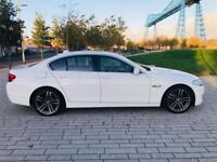 BMW 5 SERIES 2.0 520D SE 4d AUTO 181 BHP PAY NOTHING UNTIL JAN (white) 2012