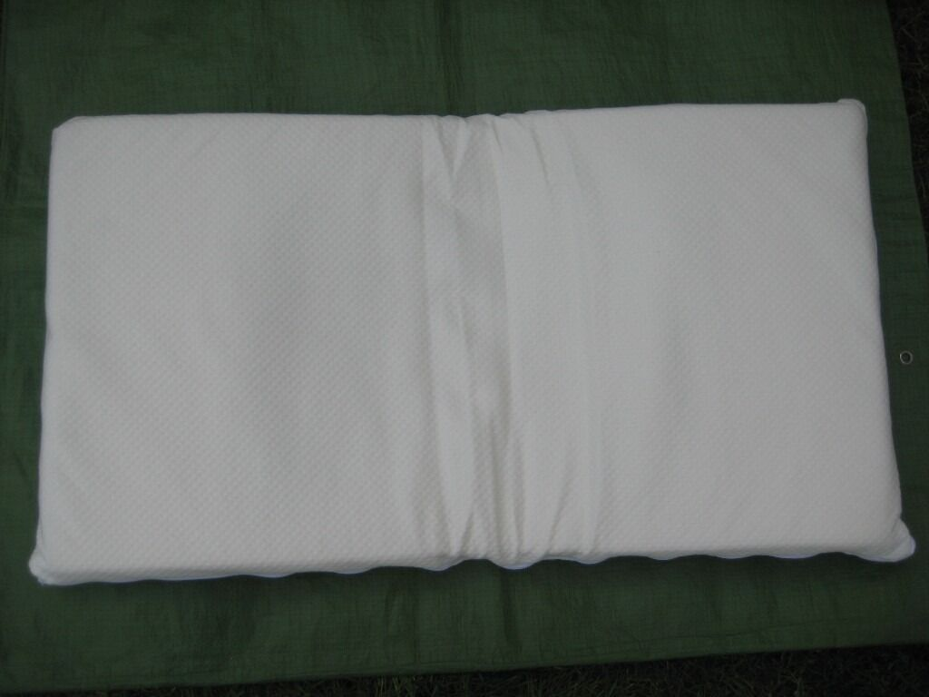 New Foam Mattress for Pram or Crib with Fitted Sheet for £5.00