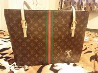 Brand new brown tote shoulder handbag