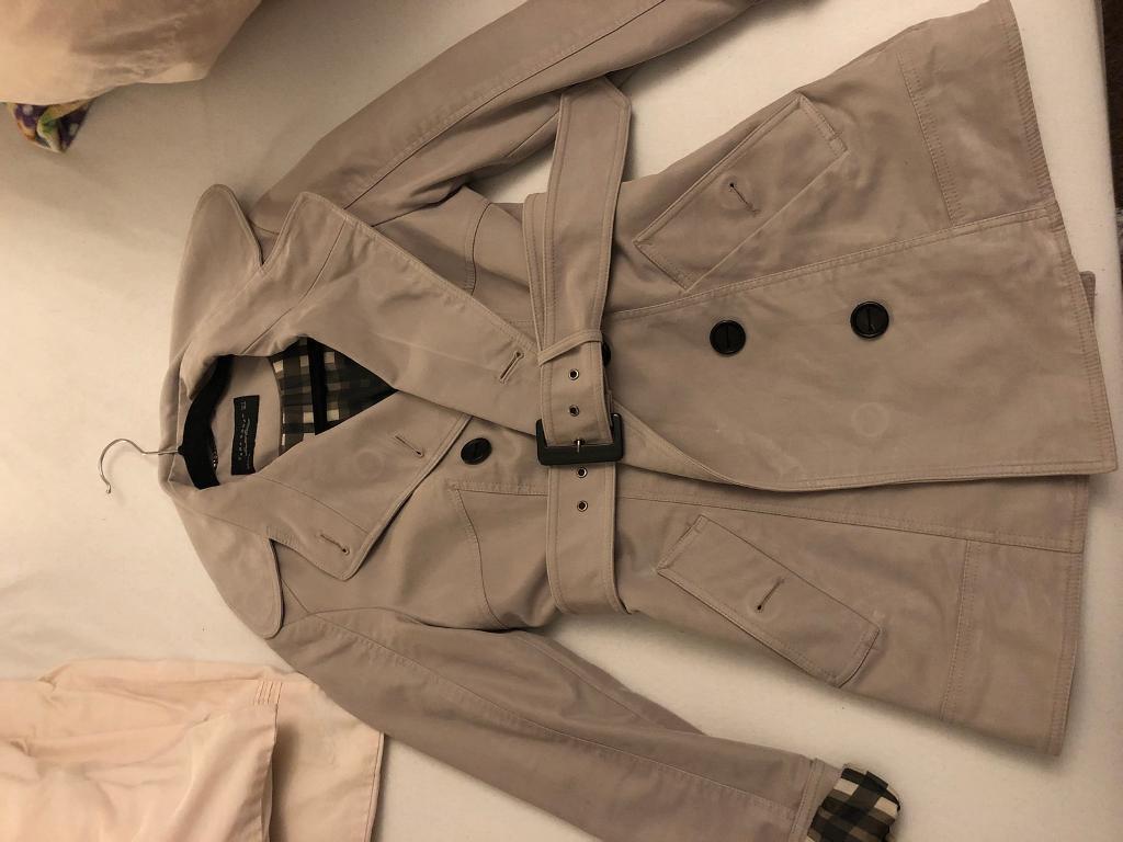 Women's coat beige.