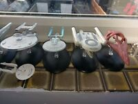 Collection of star trek ships (mostly eaglemoss)