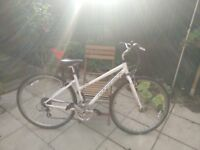Ladies Bike - Ridgeback Comet Hybrid lightly used. recently serviced. Collection £100 ono