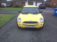 2001 mini one for parts or repair