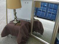 Curtain Pole, Mirror, Lamp, Bundle