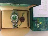 New Swiss Men's Rolex Oyster Datejust Perpetual Automatic Watch