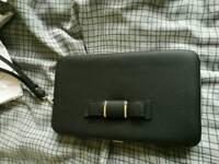 Women's long purse also phone holder