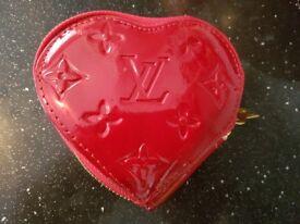 Louis Vuitton purse/LV heart shape purse