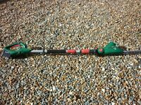 New Qualcast 18v cordless pole hedge trimmer