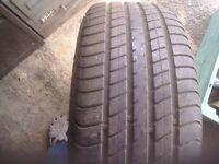 Galaxy alloy wheel and tyre size 215 55 16