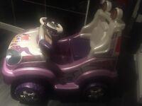 Girls electric jeep
