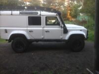 ONE OFF LAND ROVER DEFENDER EXPEDITION VEHICLE 110 TD5