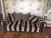 2 stylish luxury sofas
