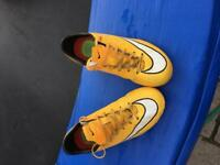 Nike mercurial boots size 3