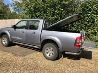 Ford Ranger 2.5 Thunder crew Cab pick-up, Mountain top load cover, good overall condition.