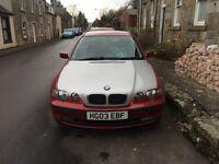 BMW 316ti Compact 2003 - Maroon (Silver Bonet)