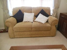 3 piece suite consisting of a 2 seat sofa and 2 armchairs