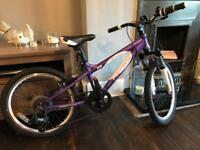 "Carrera Luna 20"" Girls Mountain Bike"