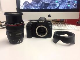 Canon 5D Mark II Full Frame DSLR Camera and EF 24-105mm f/4L IS II USM Lens