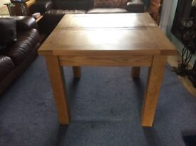 Sold oak dining table - only 1 year old