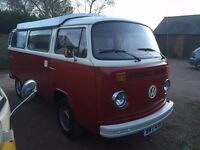 1978 VW Bay Window Campervan