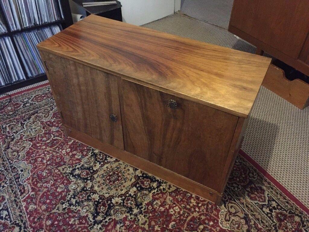 Vintage 70s teak G Plan style sideboard drinks cabinet mid-century