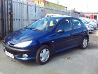 MINT CONDITION LOW MILEAGE PEUGEOT 206 2.0 HDI FULL SERVICE HISTORY FULL MOT DRIVES LIKE NEW