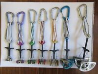 Full Trad Climbing rack in excellent condition