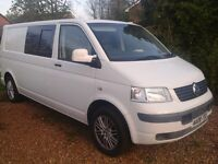 VW T5 lwb day van.