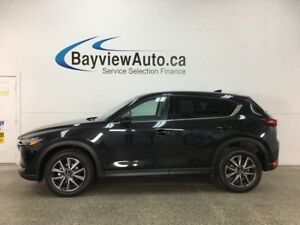 2018 Mazda CX-5 GT - SUNROOF! HTD LTHR! NAV! BSD! ADAPTIVE CR...