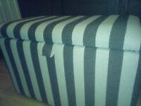 Ottoman storage seat. Perfect condition