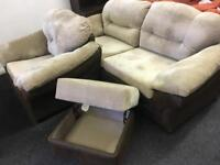 Sofa chair and stool can deliver