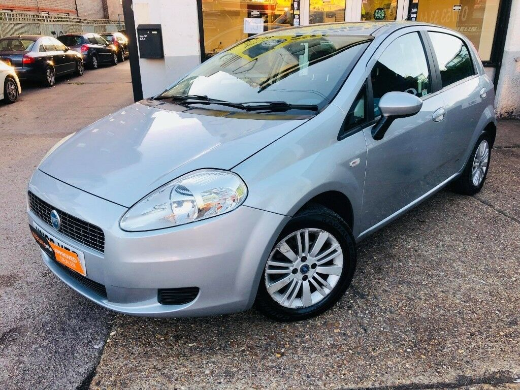 2006 Fiat Grande Punto 12 Petrol 5 Door Mot September 2019