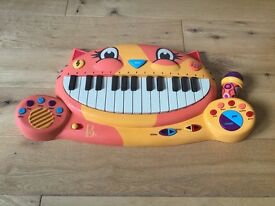 Smyths cat face toy keyboard