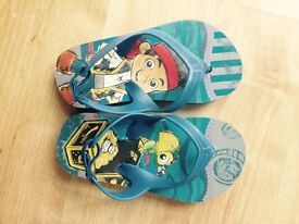 Jake and the neverland pirate sandals