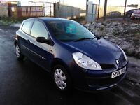 2008 Renault Clio 1.2 Freeway 1 years mot only 60000mls with full service history