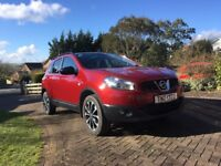 Beautifully maintained 7 Seat qashqai 360 model with SATNAV, 360 cameras. 1 owner. FSH