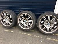 BMW M3 style alloy wheels