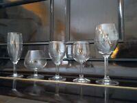 CUPBOARD SALE-- teapots, glassware, cutlery, ceramics --LARGE ASSORTMENT, great condition!