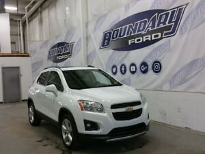 2014 Chevrolet Trax LTZ W/ Leather, Sunroof, Back Up Camera