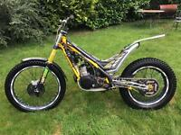 2014 sherco st 300 trials bike