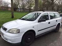 2001 VAUXHALL ASTRA.BRILLIANT DRIVE.ELECTRIC WINDOWS.CENTRAL LOCKING KEY WITH REMOTE.5 SPEED.