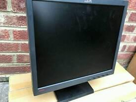 IBM Lcd monitors and lenova monitors