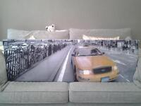 nyc canvas 1350mm x 450mm