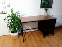 Beautiful industrial desk