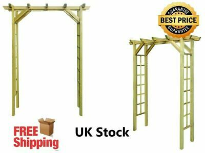 Garden Rose Arch Made of FSC and Impregnated pinewood 150x50x200cm Rot-resistant