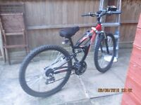 This is a Boys Mountain Bike suitable for 10 - 16 year olds.