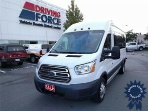 2016 Ford Transit Wagon XLT 15 Passenger, Dual Rear Wheels